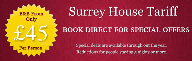 Tariff | £32.50 Per Person Per Night